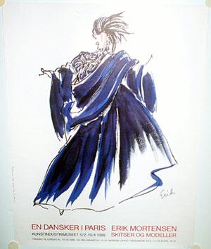 Erik Mortensen   A Dane In Paris  Fashion Design Posters