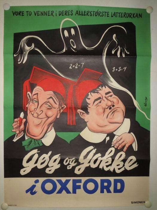 gøg og gokke plakat